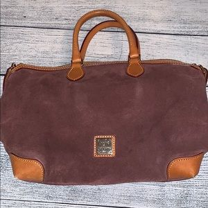 Dooney & Bourke Suede Handbag